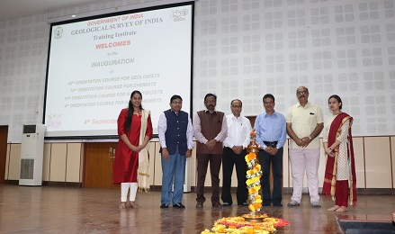 Inaugural Ceremony at Training Institute