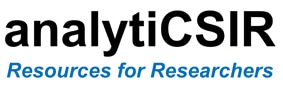 AnalytiCSIR  (External link that opens in a new window)
